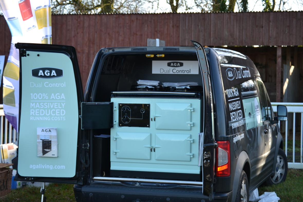 Racecourse debut at Cottenham for the new look AGA van