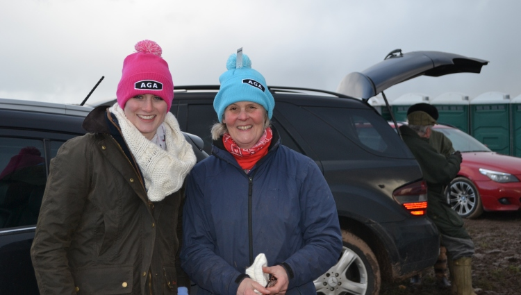 More new hats! Gina Andrews and my fellow committee member, Diana Williams