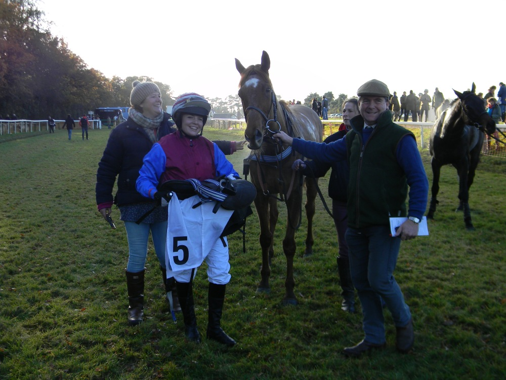 First success as a trainer for our AGA champion