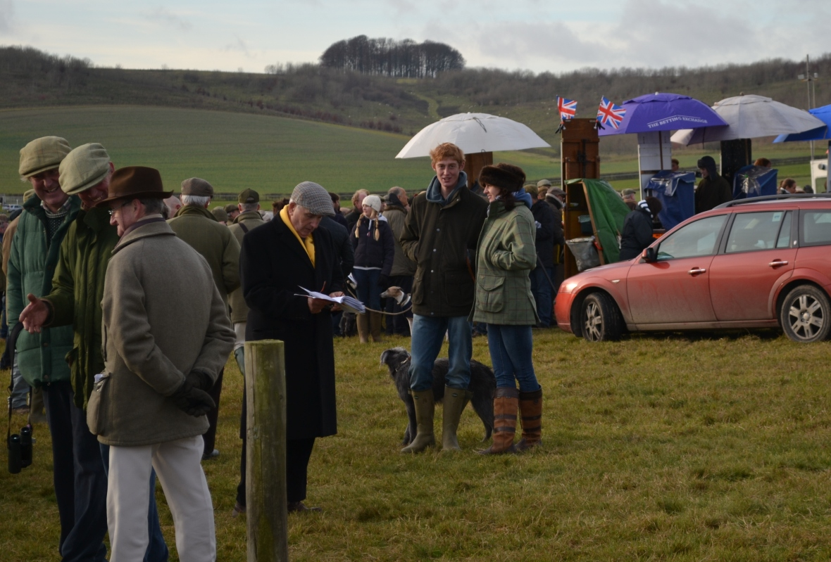 Jack Barber (centre) has just spotted the AGA man, while girlfriend Jade Walters plays it cool, the dog isn't bothered!