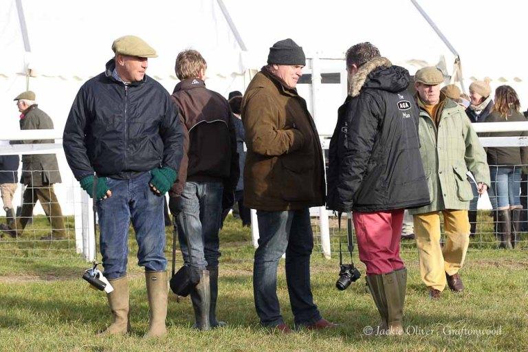 L-R Nigel Padfield, Jack Andrews, Tony Ellis, David Simpson pic by Jackie Oliver