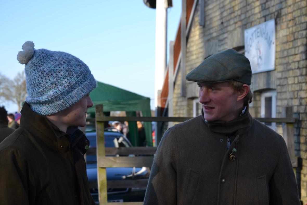 Sam Davies-Thomas and Pete 'Shep' Mann