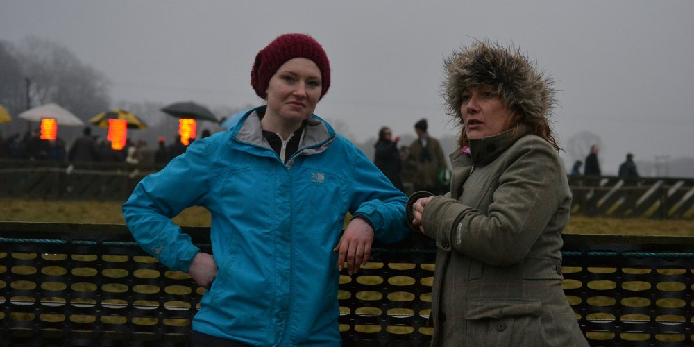 Siobhan and Shona looking so sad because they don't have an AGA hat ...