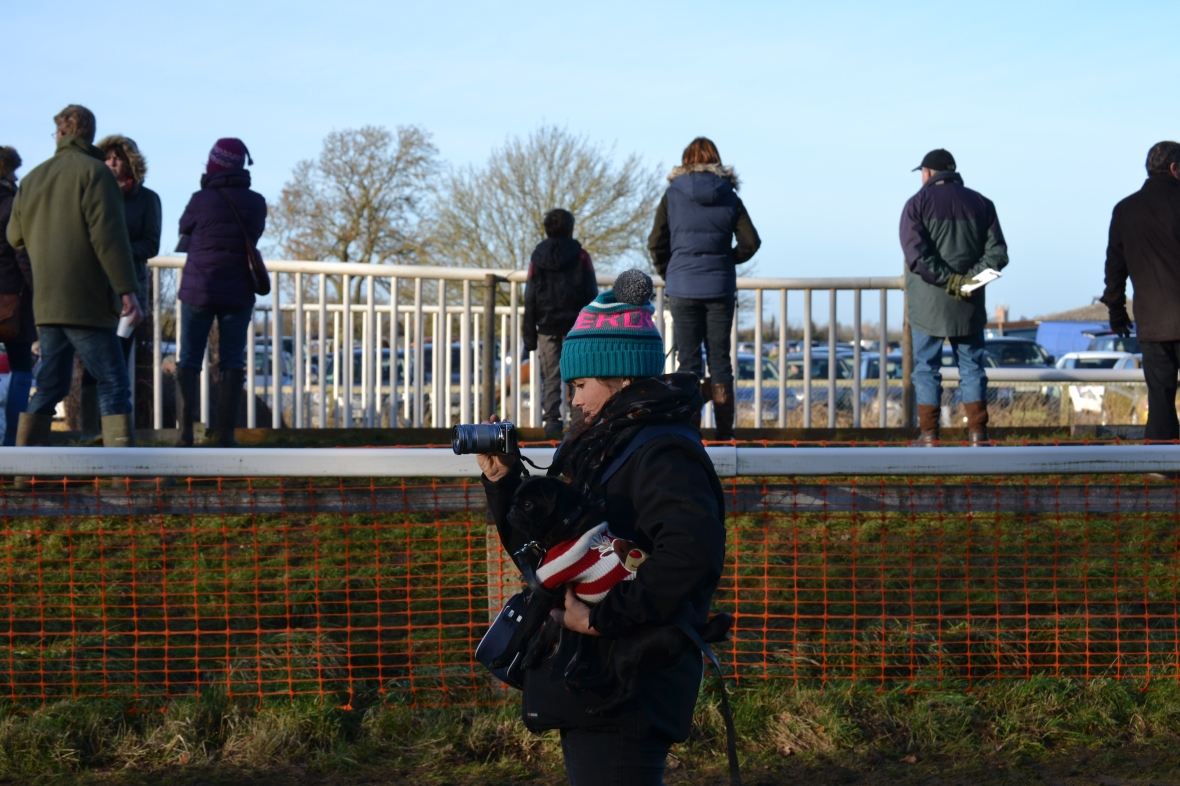 As well as looking after Camilla's pug, Ripper was also busy with her camera