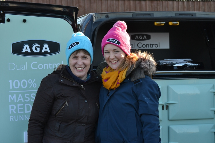 Tracey and Charly Prichard love those AGA hats