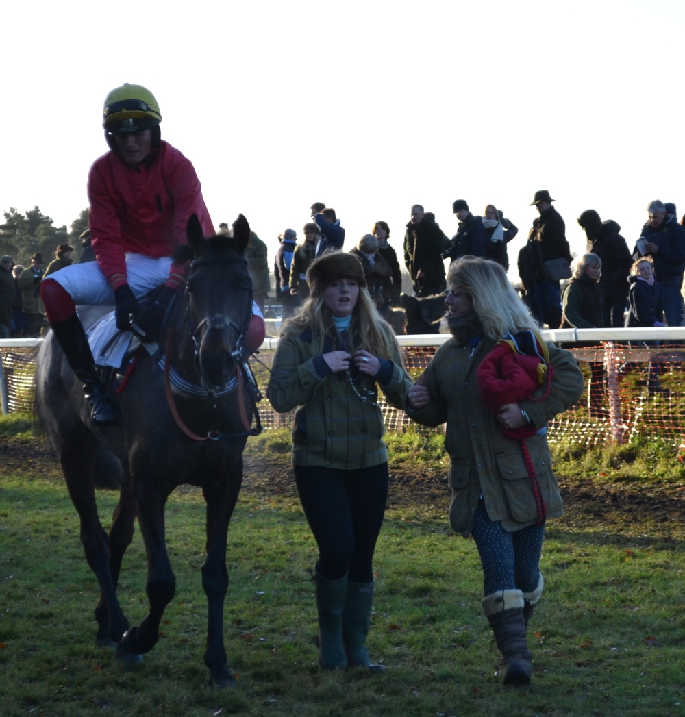 Champion Versions and Joe Hill after winning Div 1 of the Open Maiden