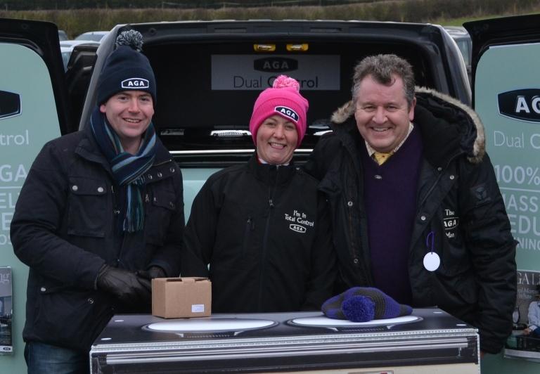 Nick Luck, Catherine Walton, David Simpson