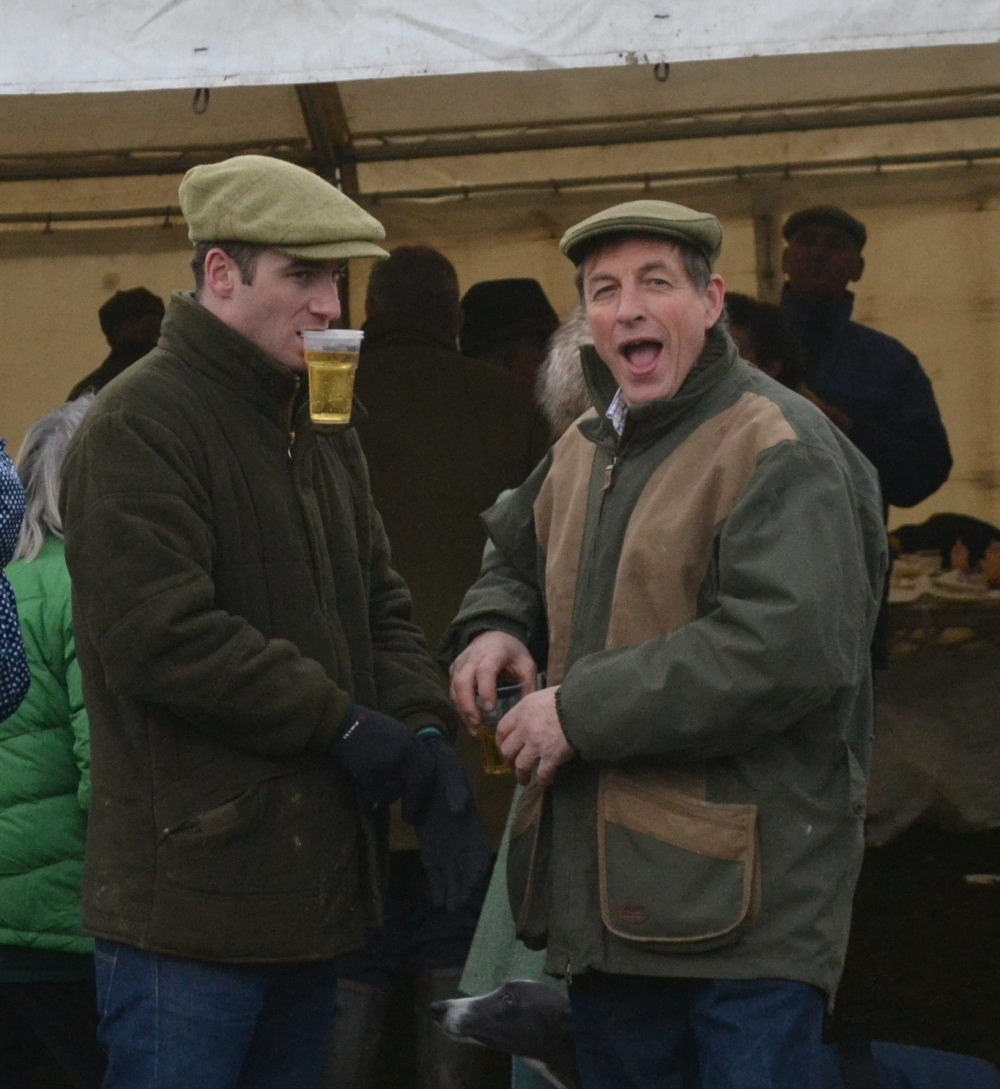 As ever at a point-to-point, the bar was busy