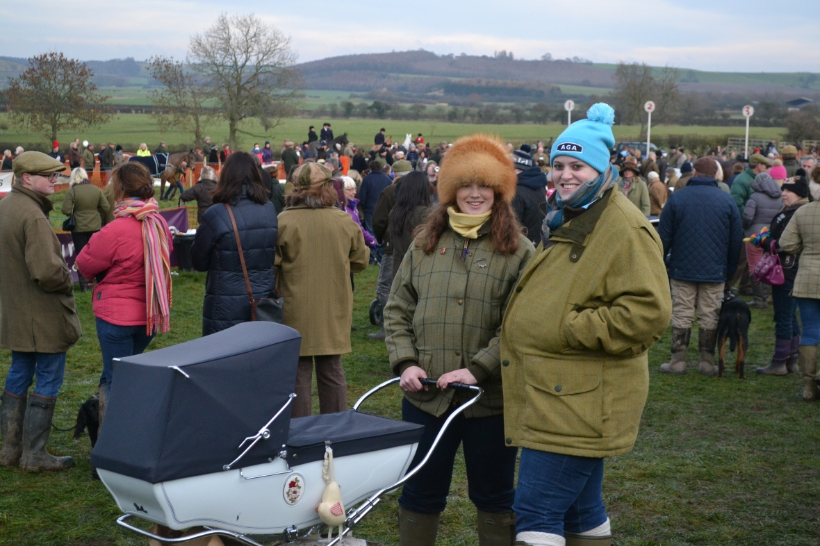 The whole family can enjoy a day out at a point-to-point meeting!