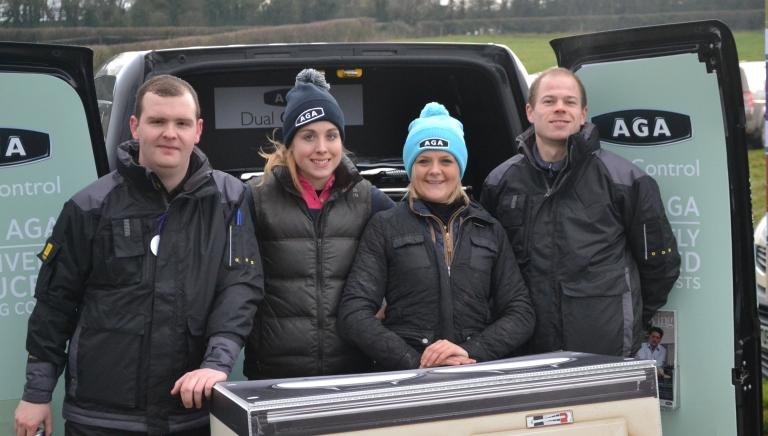 Dan, Bertie, Laura & Mark