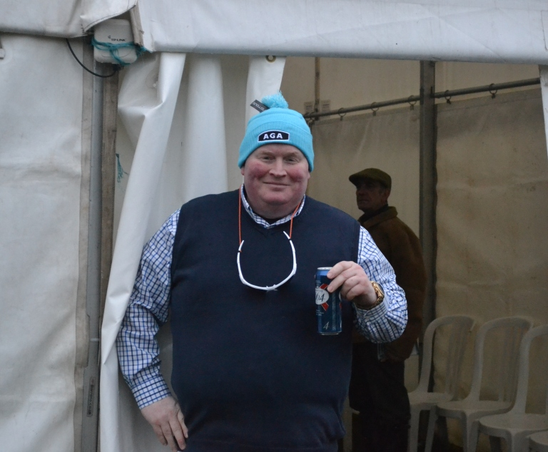 Local butcher Philip Parkin (Parko) requested a hat after seeing them on facebook