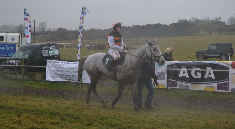 Hardy Oscar and Kate Leckenby, 3rd in the Open Maiden 456&7yo