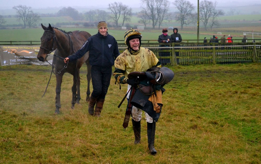 National Champion Jacqueline Coward has just finished 7th on Asheanymoney in the Open Maiden
