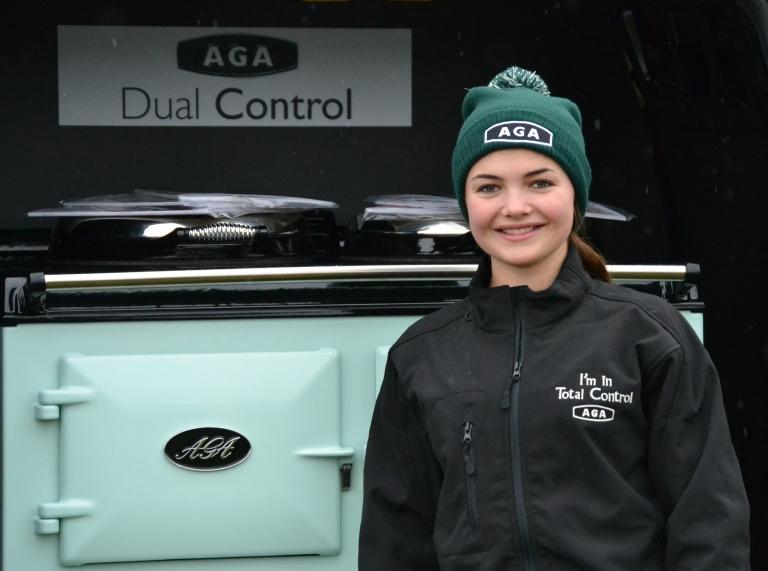 Meg Nicholls has her eye on the aqua AGA