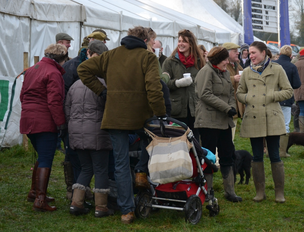 Point-to-point racing has a reputation for being very sociable, especially in Yorkshire