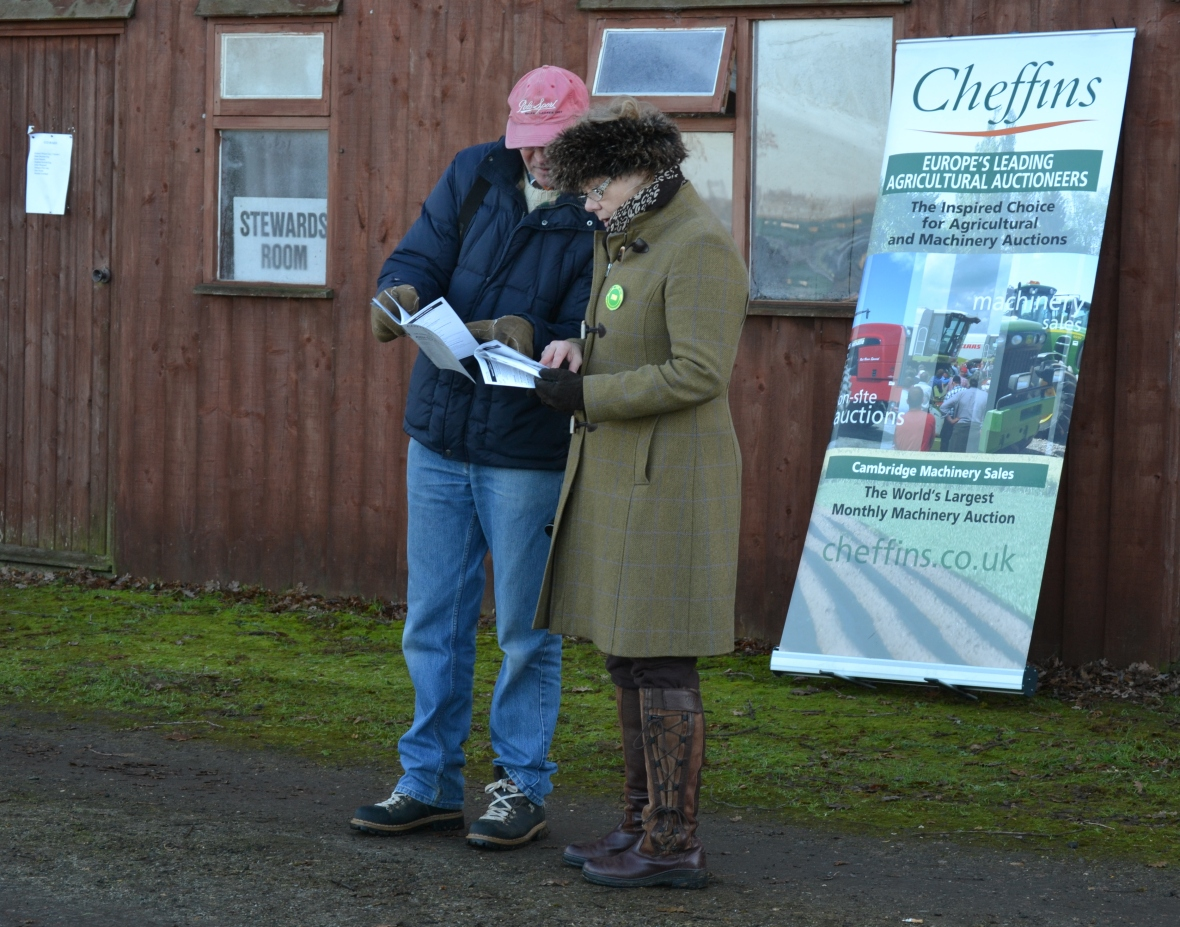 PPA board member Steven Astaire & South Midlands Area Chairman Sara Moule compare notes before the Restricted