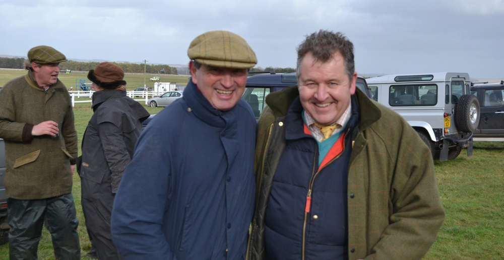 Me with Grand National legend Jimmy Frost