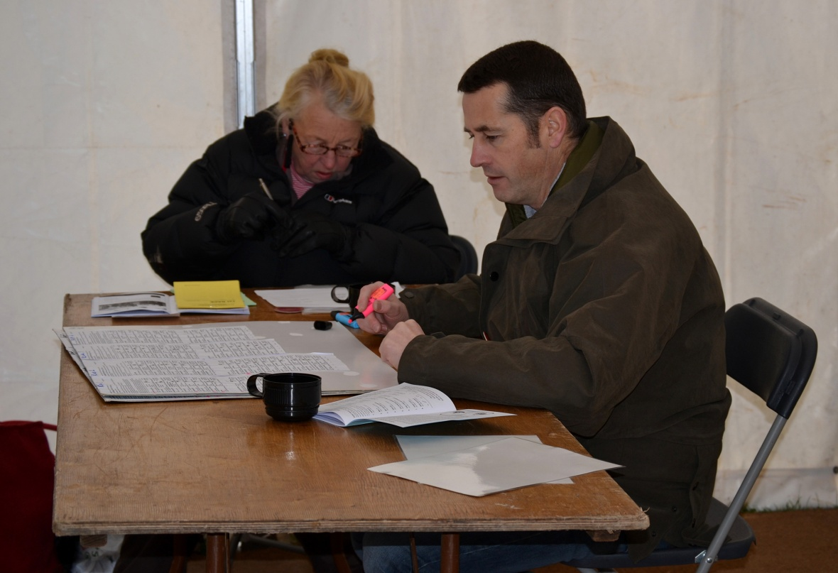 Mrs S Butler and Mr J Hern, Clerk of the Sclaes and Asst Clerk of the Scales