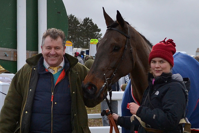 I'd like to be stood in the winners enclosure one day