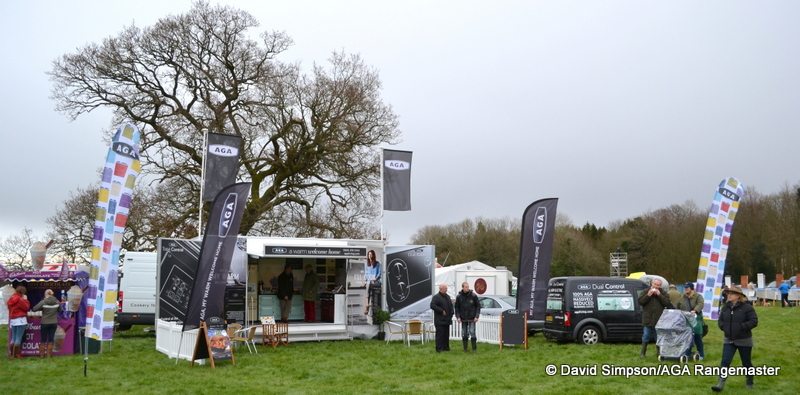 The AGA trailer makes it's point-to-point debut