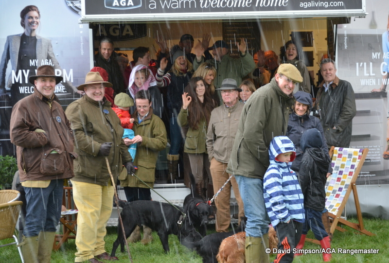 Is this the most people ever on an AGA stand?