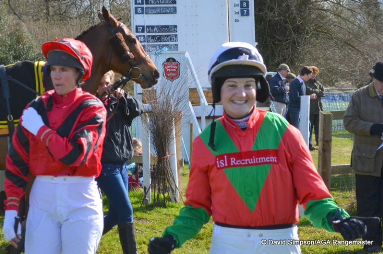 Ally Stirling won our first AGA race this season, at Cottenham in December