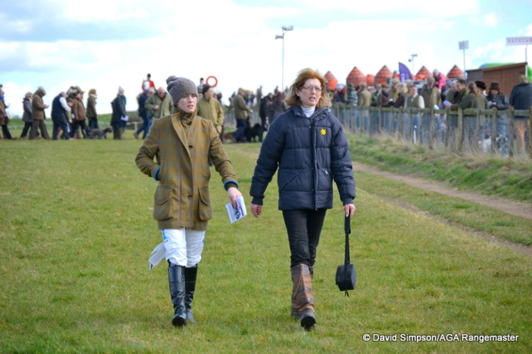 Two of the afore-mentioned 'familiar faces', Bridget Andrews and her mum Joanna