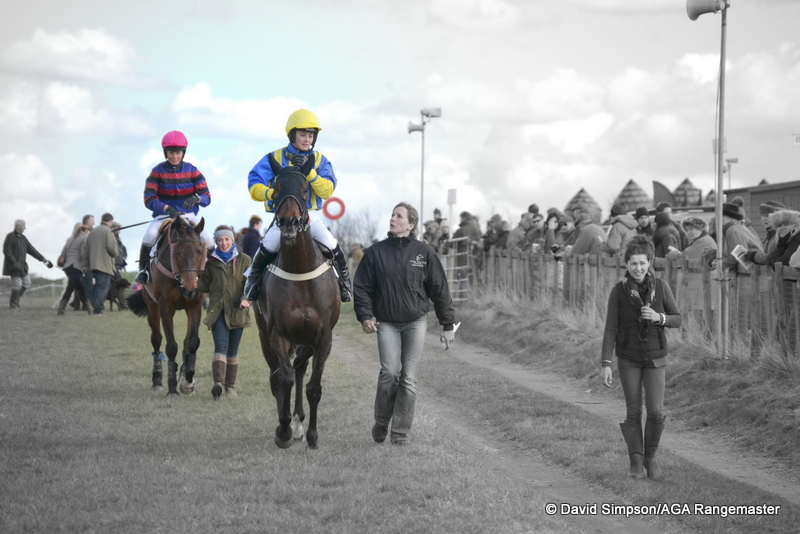 Pollen Jock (Gina Andrews) was pulled up, leaving two finishers, See You Jack (Bridget Andrews) and the winner Little Legend Legend (Cynthia Haydon)