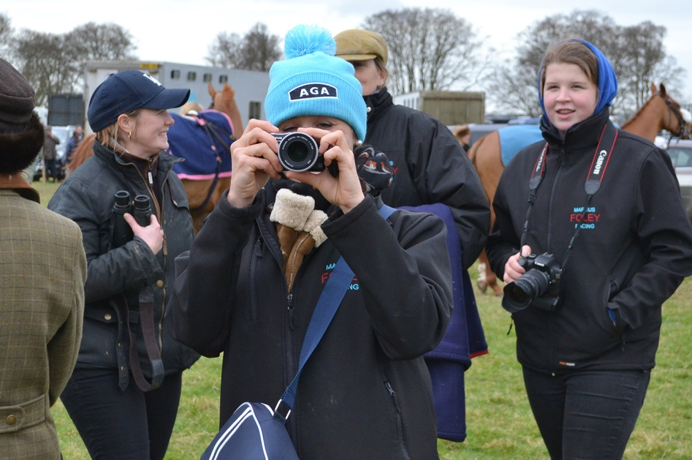The snapper gets snapped! Ripper Rippon has the AGA man in her lens