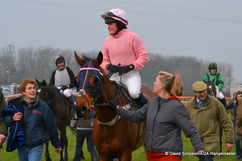 Race winner Harriet Bethell and Nalim have formed quite a prolific partnership