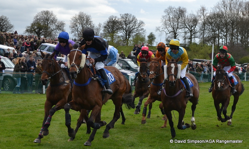 Action from the Restricted race