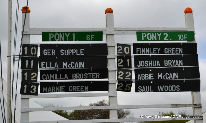 Four declared in both pony races