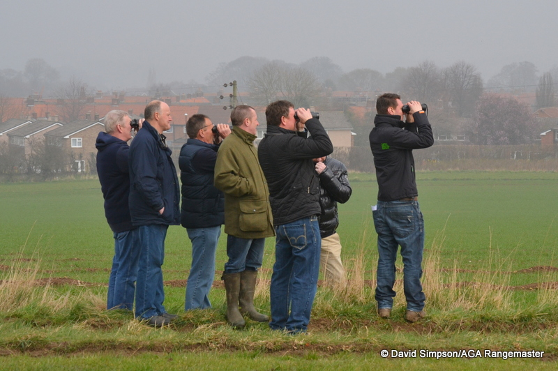 This group had a great vantage point for the Restricted race