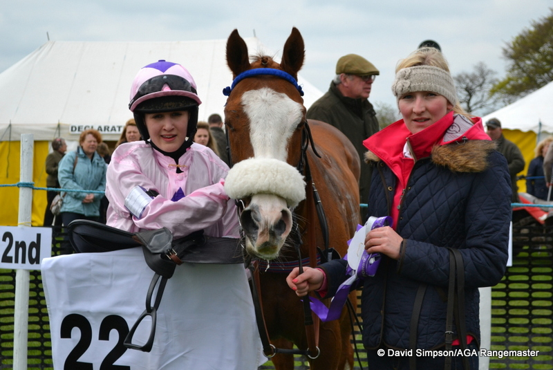 Abbie McCain, winner of the Hall & Pickles 14.2 and under Pony Race