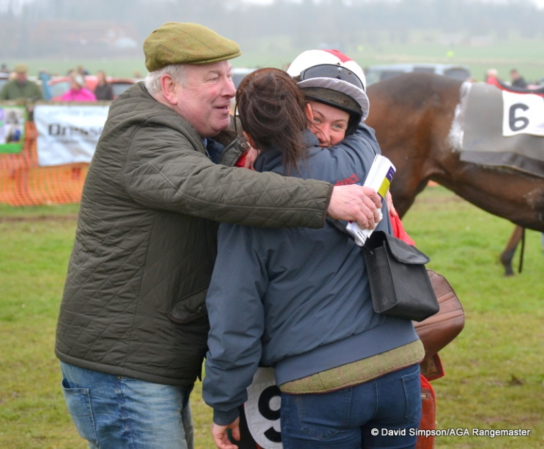 A great big hug for Catherine Walton