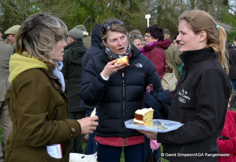Cake and point-to-point go hand in hand