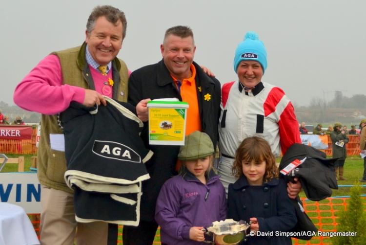 AGA man, Micky Hammond, Catherine Walton, Kierra Hammond and her friend Amelie