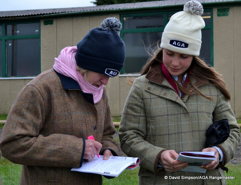 Studying form - Helen Hart and Annie Dalton
