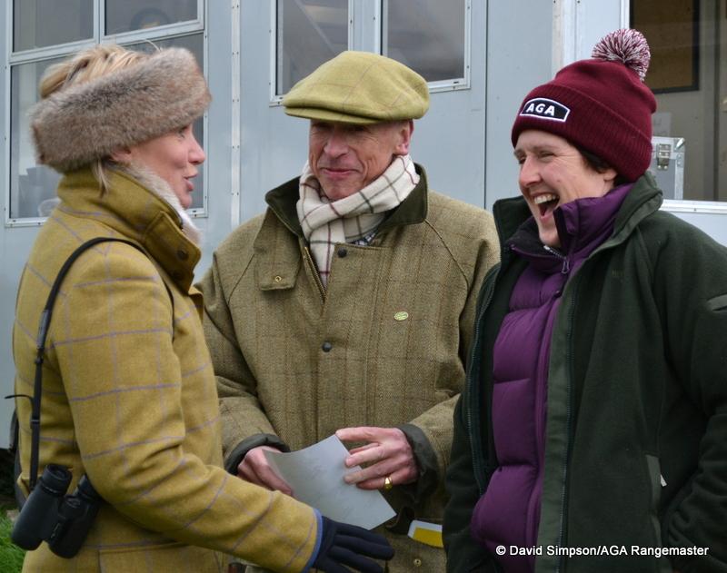 L-R: Heather Dalton, Derek Freathy and Sue Sharratt