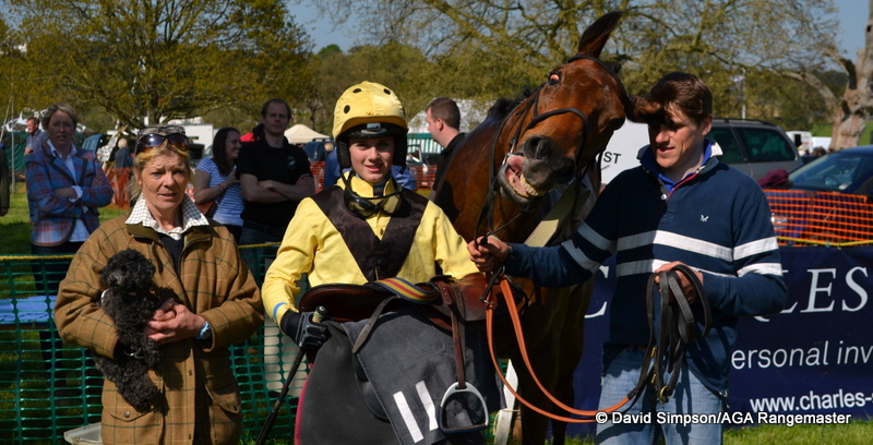Harry Skelton was leading up and he was astounded that he didn't win best turned out!