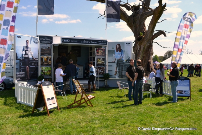 The impressive AGA show trailer fitted in a treat