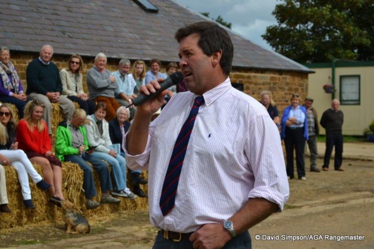 Douglas Harkin introduces the horses for the 2014-15 season