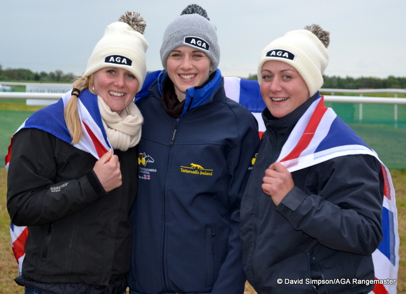 She also popped over to Fairyhouse to cheer on Team GB in the Tattersalls Ireland International PtP challenge