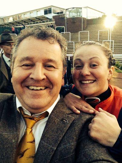 Cheltenham selfie with the AGA man!
