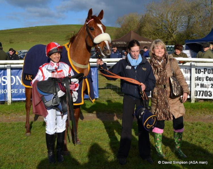 Charity race winner