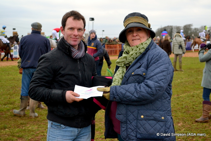 Mrs S was on BTO duty for the AGA sponsored PPORA Club Members' race for novice riders