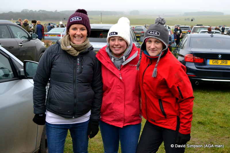 L-R: Clare Gundry, Claire Hart and Hayley Finlay
