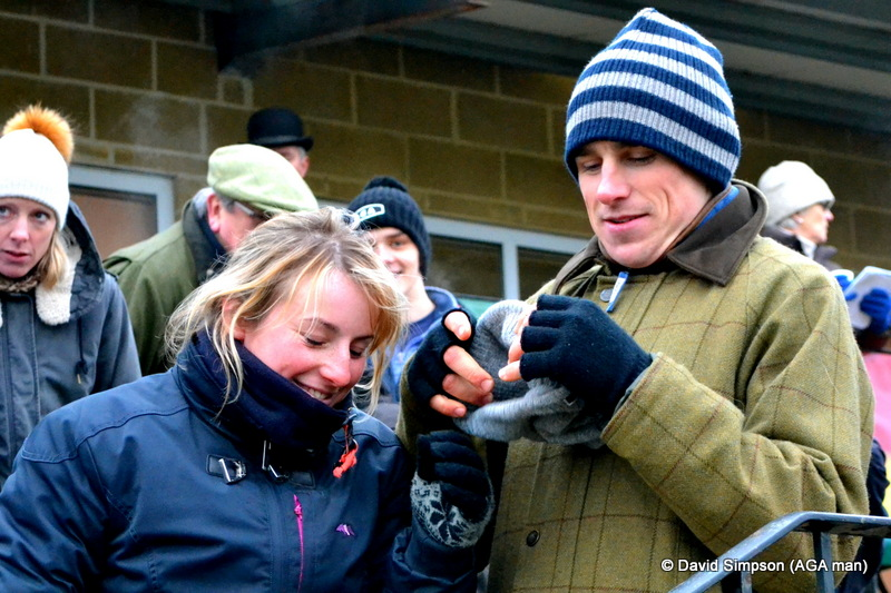 Hannah Watson and Harry Skelton - there is another version of this photo which has yet to see the light of day...