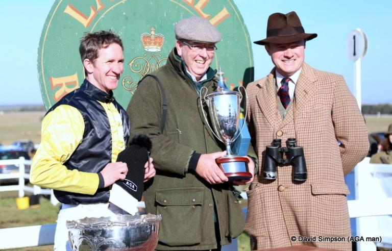 Jody Sole has just won the Club Members race on Hincheslea Moor