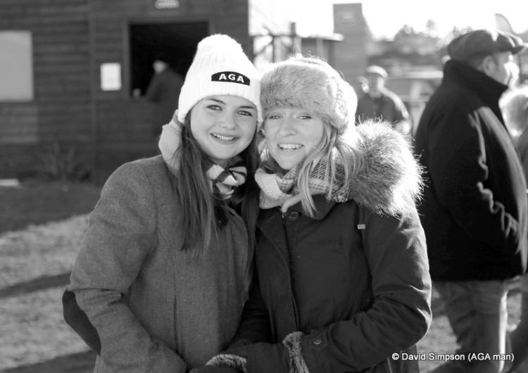 Megan Nicholls and Emily  Petts